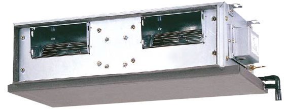 Ceiling Concealed Type R 410a Fdmqn Series Heat Pump
